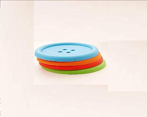 ActionwareUnbreakable Button Tea CoasterCup Cover